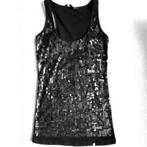 Armani Exchange sequin Tank size S